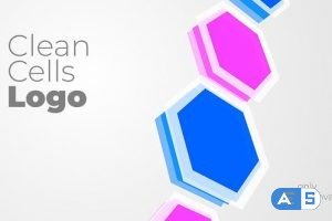 Videohive Clean Cells Logo 31407865