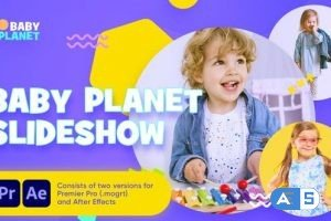 Videohive – Baby Planet Promo Slideshow – 31336343