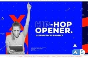 Videohive Hip Hop Typo Opener 31426641