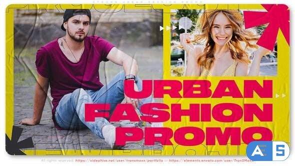 Videohive Strong Urban Fashion Promo 31348687