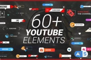 Videohive YouTube Buttons Subscribe Pack 31404809