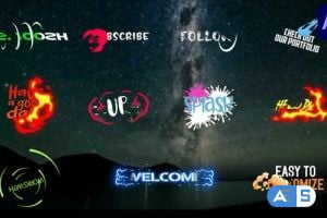 Videohive Dynanic Cartoon Titles | After Effects 31530219