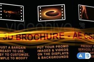 Videohive 3D BROCHURE – FULL HD – AE CS3 105042