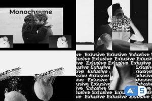 Videohive – Monochrome opener – 31150874