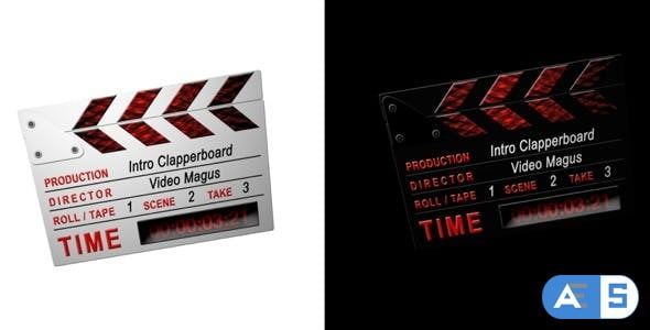 Videohive Intro Clappers – 2 in 1 – CS3 – Full HD 112761