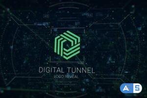 Videohive Digital Tunnel Logo 31520428