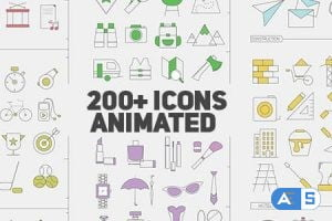 Videohive Icons Library 14484457