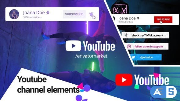Videohive Youtube Channel Elements 31479141