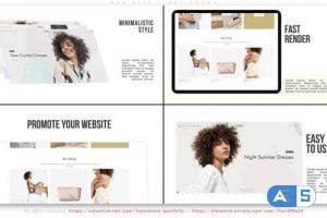 Videohive Web Site. Light Promo 31442176