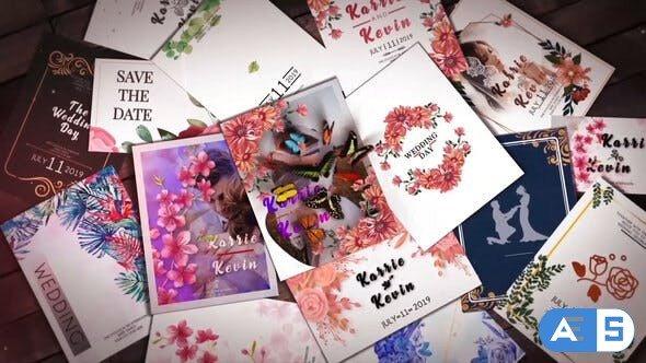 Videohive Wedding Invitation Slideshow B31 31552496