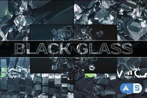 Videohive Black Glass Logo (5-pack) 11215145