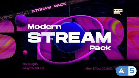 Videohive Modern stream pack 30504728