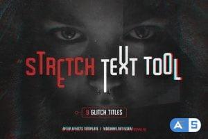 Videohive Stretch Glitch Titles 16141093