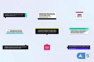Videohive Stylish Call Outs For After Effects 31556901
