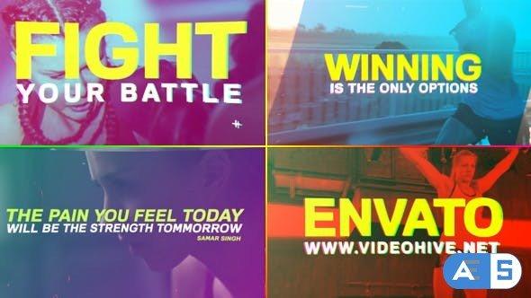 Videohive Sport Anthem / Motivational Promo 19321798