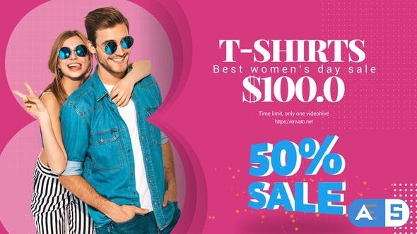 Videohive Women's Day Sale B30 31548279