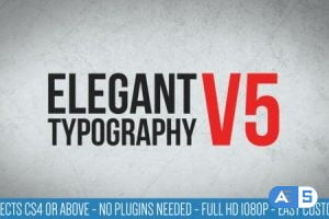 Videohive Elegant Typography V5 7373155