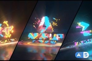 Videohive Colorful Abstract Logo Reveal 31661522