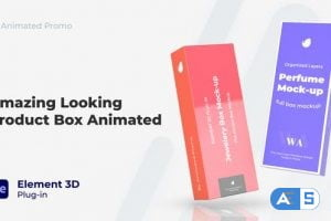 Videohive Box Mock-Up – Product Marketing Mockup 31644573