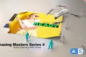 Videohive Amazing Masters Series 4 – Grand Opening With Drone 27208175