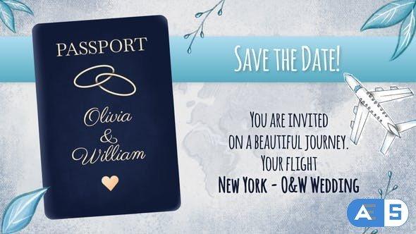 Videohive Wedding Invitation Slideshow 31607409