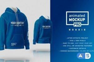 Videohive Hoodie Mockup Template – Animated Mockup PRO 31573152
