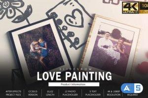 Videohive Love Story Slideshow – Painting 31607395