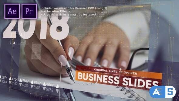 Videohive – Business Timeline Slides – 31659298