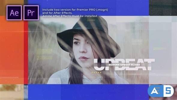Videohive – Modern Upbeat Slides – 31658861