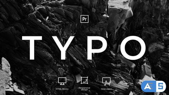 Videohive – Typography | MOGRT – 31599720