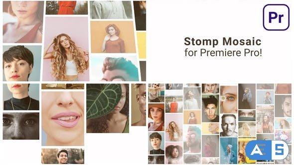 Videohive – Mosaic Stomp Multi Photo Logo – 31535403