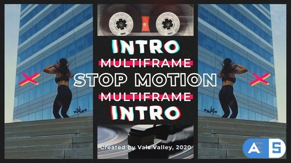 Videohive – Stop Motion Multiframe Intro – 31517604