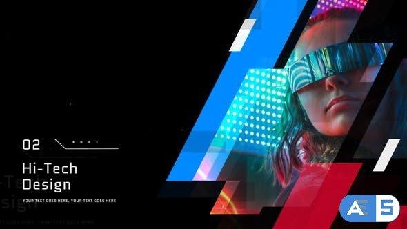Videohive Futuristic Presentation // Premiere Pro 29631422