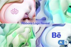 Videohive Ribbons Logo Reveal 31158646