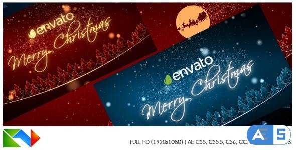 Videohive Christmas Logo Reveal 02 13620235