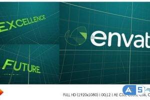 Videohive Grid Logo Reveal 10029269