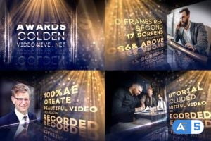 Videohive Awards Golden 29895585