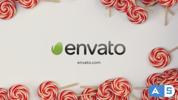 Videohive Christmas Candy Intro 29433037