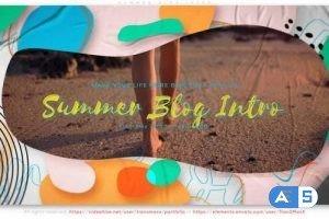 Videohive Summer Blog Intro 31738009