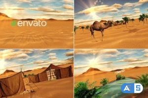 Videohive Desert Logo 22546512