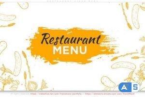 Videohive Restaurant Video Menu 31676728