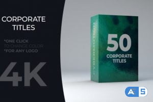 Videohive Corporate Titles Pack 21566811