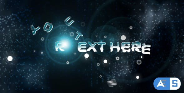 Videohive Ice Cool Text Animation 90885