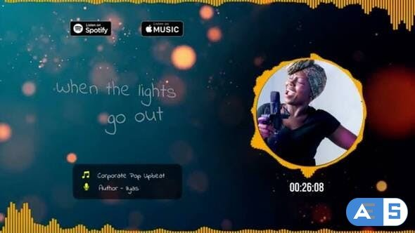 Videohive Music Players With Lyrics Titles 31680874