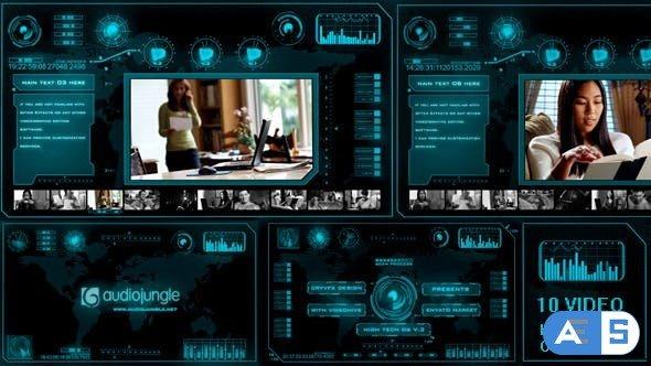 Videohive High Tech OS V.3 10606121