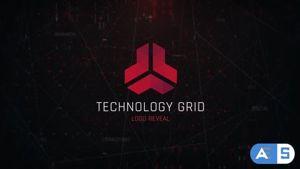 Videohive Technology Grid Logo 31041412