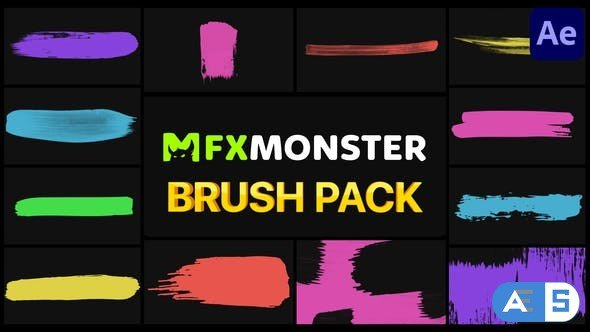 Videohive Brush Pack | After Effects 30989717