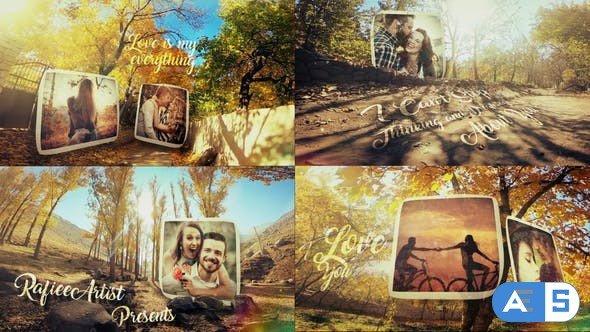 Videohive Autumn Love Story Slideshow 25183556