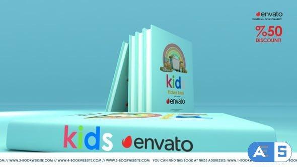 Videohive Kids Book Promo 30552715