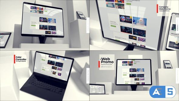 Videohive Website Presentation Mockup 30984694